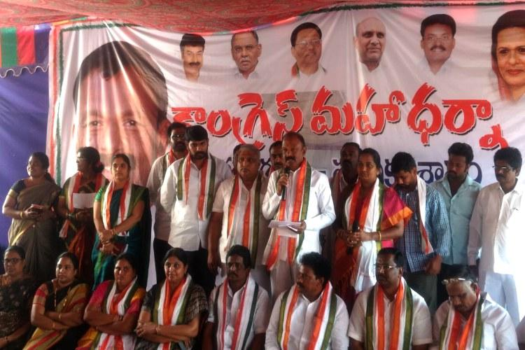 Vijayawada Cong threatens indefinite protest unless infra projects are completed soon