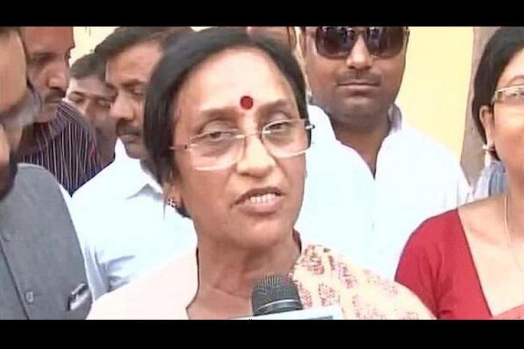 UP Congress leader Rita Bahuguna Joshi joins BJP