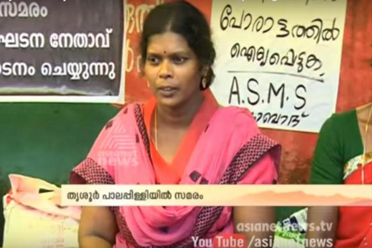 With no one repairing bad roads Kerala tribal woman on indefinite hunger strike