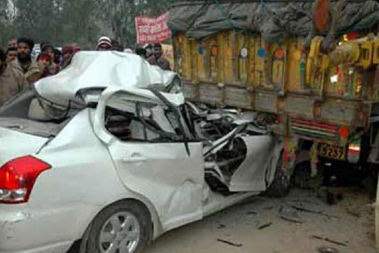 file image of a road crash