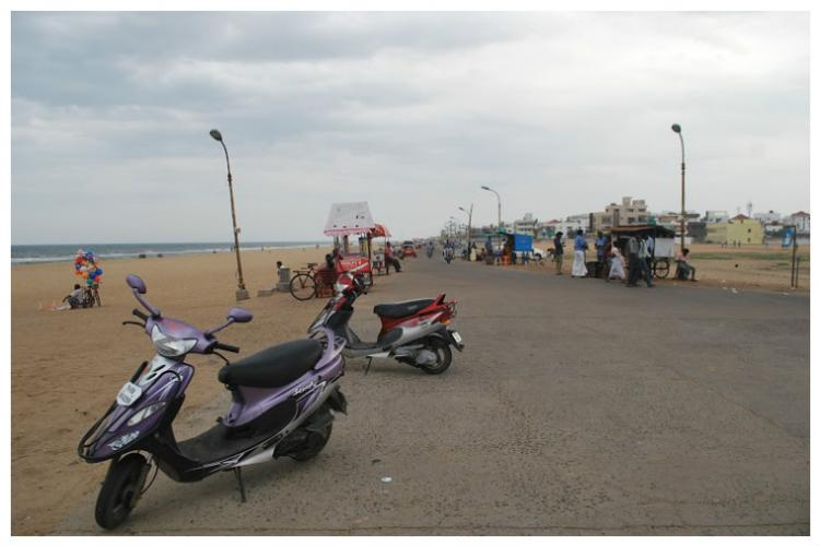 Illegal roads are choking Chennais coastline wake up Chennai Corporation