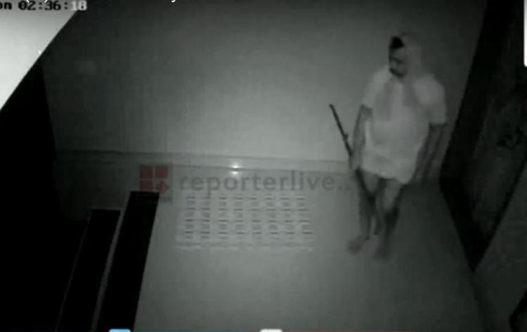 House break in caught on CCTV robber turns out to be local CPIM leader