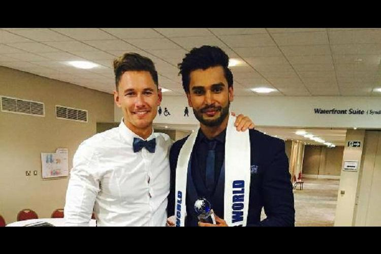 Hyd boy Rohit Khandelwal becomes first Indian to be crowned Mr World