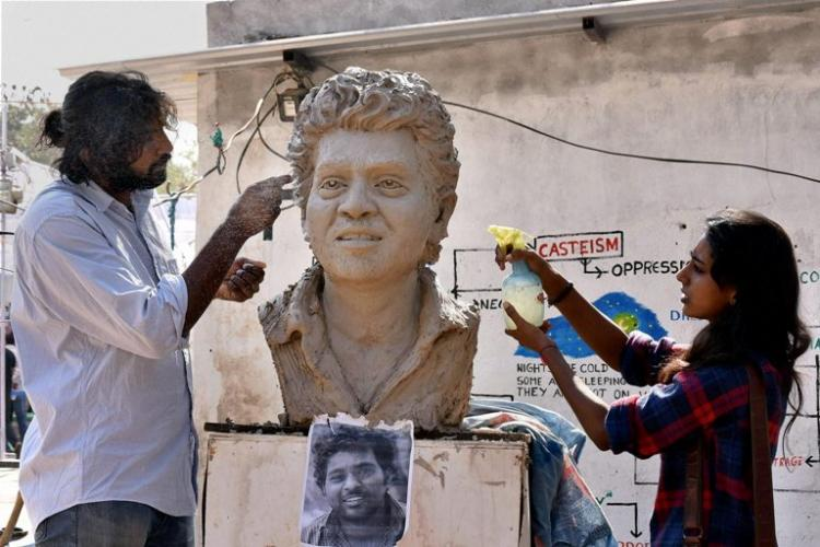 Hyderabad University to remove Rohith Vemula memorials on campus