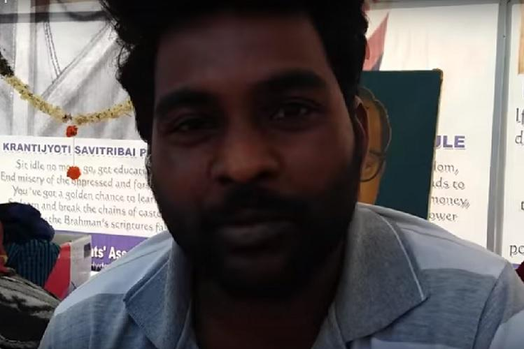 My name is Rohith Vemula and I am a Dalit Old video of Hyd Uni scholar emerges