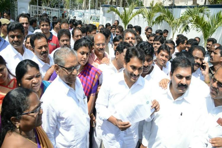 YSRCP MLA Roja denied entry into AP Assembly despite court order