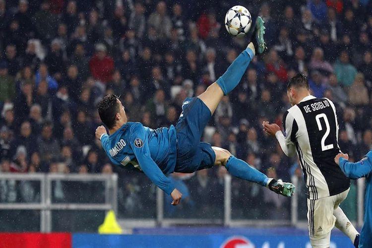 Ronaldo wins UEFA Goal of the Season for bicycle kick vs Juventus