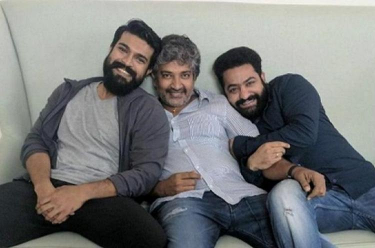 Rajamouli begins shooting for upcoming flick RRR