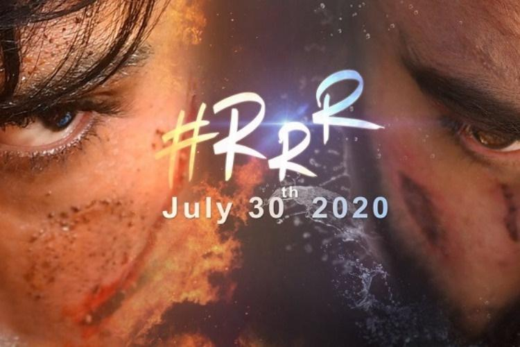 RRR Story Line Revealed By Rajamouli