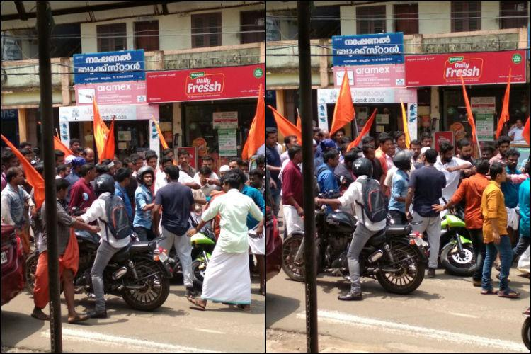 2 RSS men arrested for attacking media personnel in Malappuram
