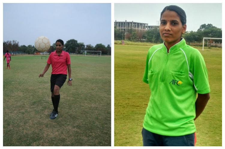 Fighting poverty Rupa Devis journey from a football player to FIFA qualified referee