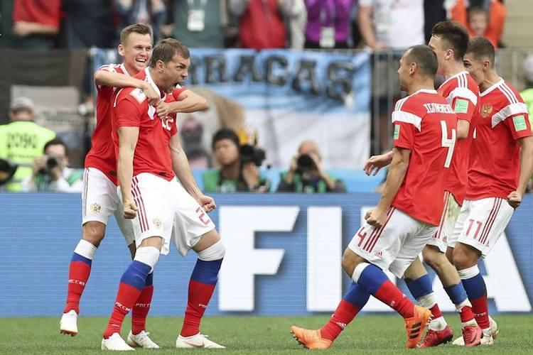 FIFA World Cup Hosts Russia pound Saudi Arabia in opening match