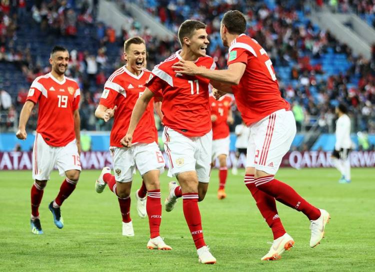 FIFA World Cup Russia overwhelm Egypt 3-1 to lead group