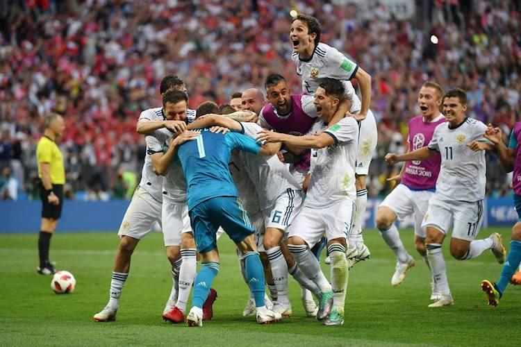 Russias celebration of win over Spain akin to WWII victory euphoria Kremlin