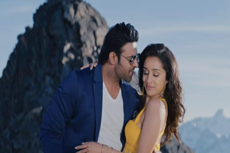 Watch Romantic number Ye Chota Nuvvunna featuring Prabhas and Shraddha from Saaho
