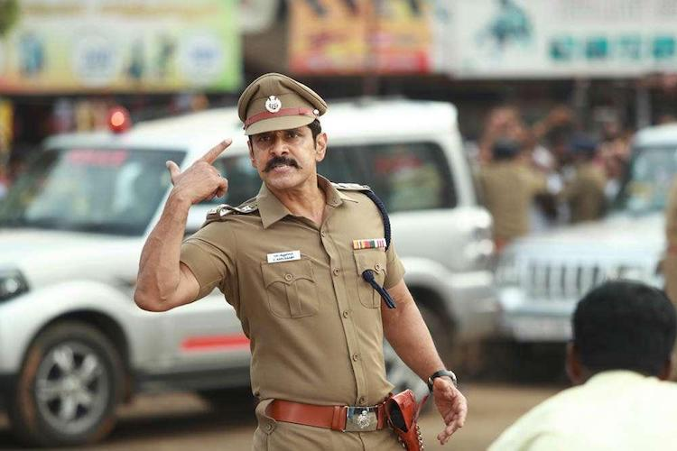 Vikram to be seen playing the father and the son in Saamy Square