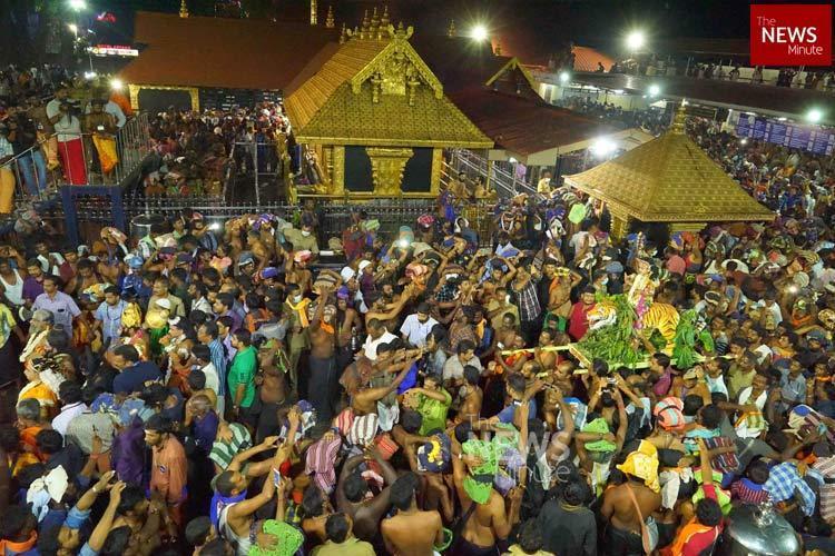 No water no toilets causing health hazard for Sabarimala devotees Kerala rights body