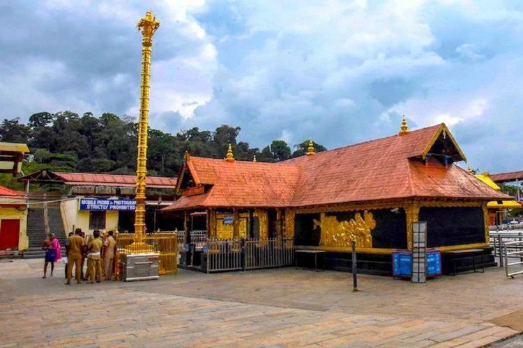Sabarimala Sannidhanam without crowd