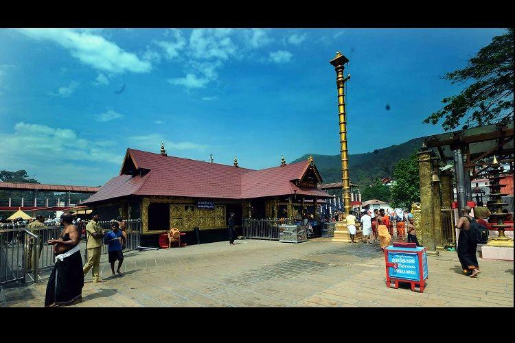 Why has Sabarimala temple's name been changed suddenly