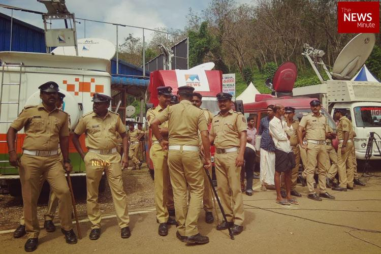 Media restricted from approaching Sabarimala shrine DGP Behera says temporary measure