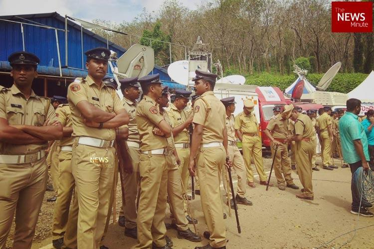 Not possible to give security for activists at Sabarimala says Kerala police Reports