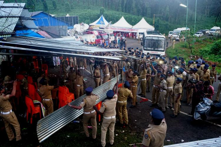BJP Yuva Morcha members held protests continue 6 developments from Sabarimala