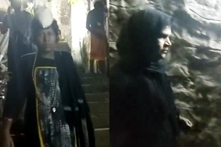 Two women below 50 years of age enter Sabarimala shrine Police sources