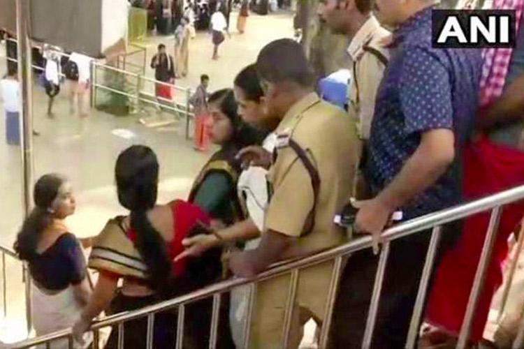 Woman over 50 years harassed for visiting Sabarimala 150 persons booked