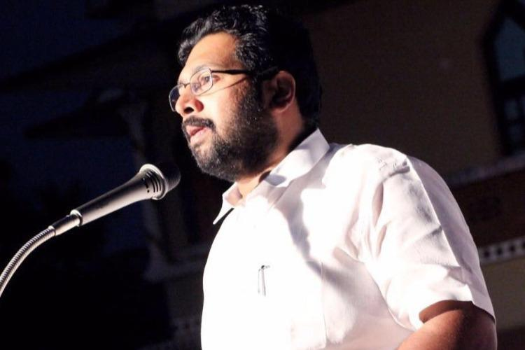 Corruption in corporate sector must be flushed out writes Kerala MLA Sabarinadhan