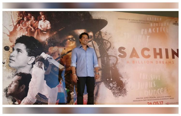 Sachin Tendulkar Released 'Sachin: A Billion Dreams' Trailer - God of Cricket
