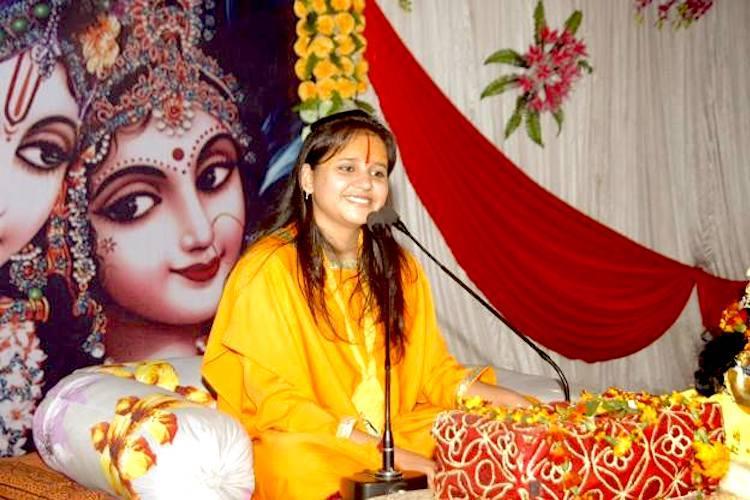 The VHPs star speaker an 18-year-old Sadhvi who advocates the sword