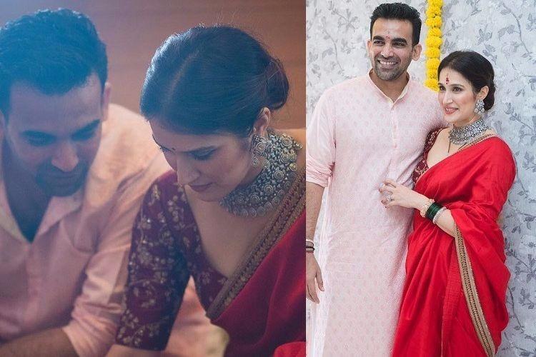 In pictures Zaheer Khan and Sagarika Ghatge get married in Mumbai