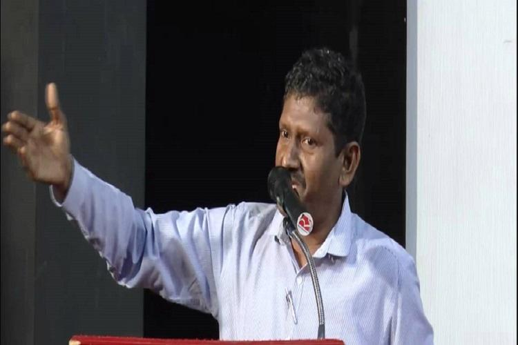 Sagayam video Silent on joining politics but asks youth to better society