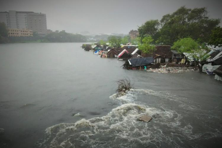 Making of a disaster Satellite images show how Chennais new urban jungles caused flooding