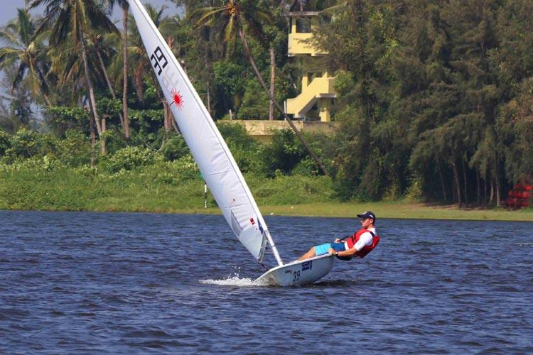 In pictures Navy officers from across the world clash in sailing contest in Kerala