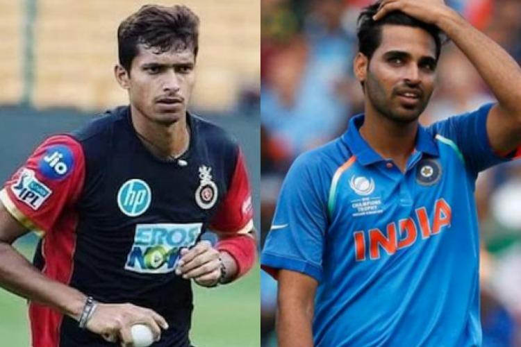 Navdeep Saini joins Indian camp as net bowler no news yet on Bhuvneshwar
