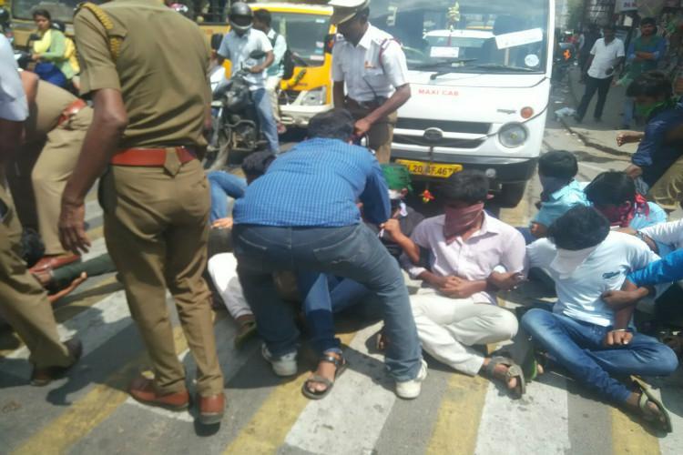 Remove campus director Sairam college students demand after suicide