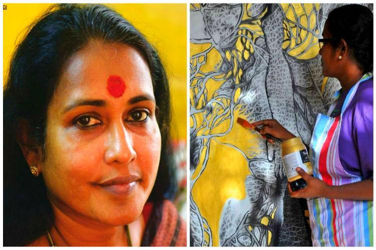 Kerala artist bags prestigious grant for painting the politics around womens bodies