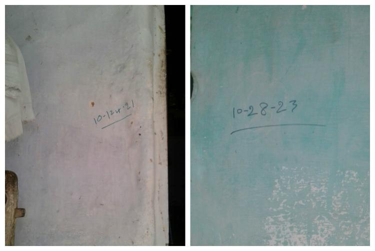 Code of corruption What are these mysterious numbers scribbled on some houses in Salem