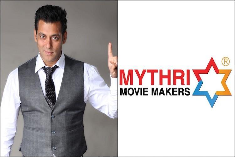 Mythri Movie Makers to produce Salman Khan starrer