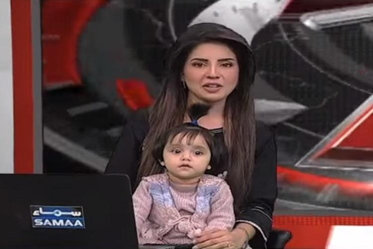 Pakistani TV anchor brings daughter on air to protest brutal rape and murder of minor