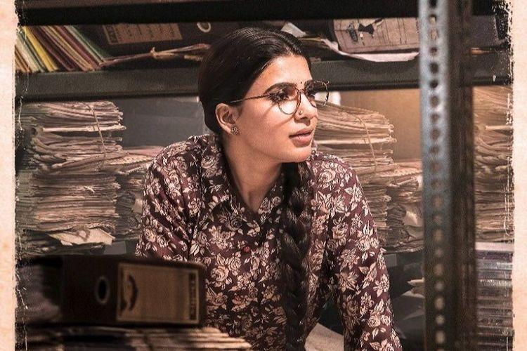 Samantha as Madhuravani Actors first look from Mahanati revealed