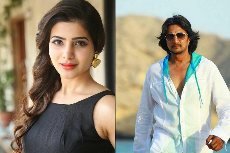 Samantha to debut in Sandalwood with Sudeep starrer