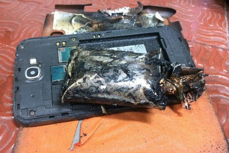 Samsung Note 2 catches fire in Chennai-bound IndiGo aircraft DGCA bans it on flights