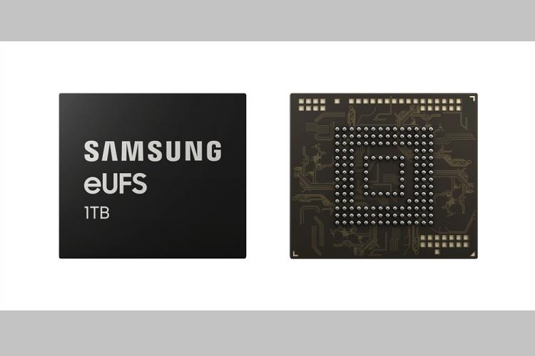 Samsung launches industrys first 1TB embedded universal flash storage