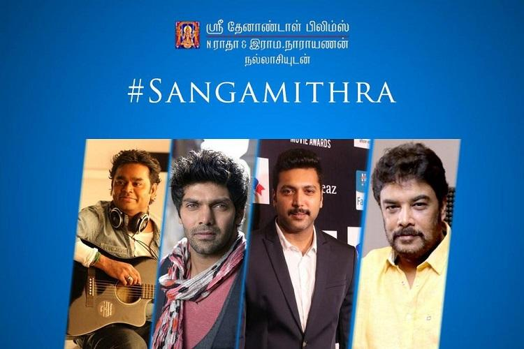 Sundar Cs mega budget film Sanghamitra to be launched at Cannes