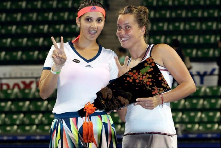 Tennis Sania-Strycova clinch Pan Pacific womens doubles title in Tokyo