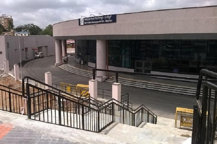 Bengalurus Majestic got metro 2 years ago no bridge linking to railway station yet