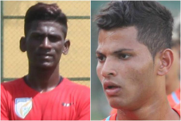 Sharing a common passion Meet the two Bengaluru boys in Indias FIFA U-17 World Cup squad