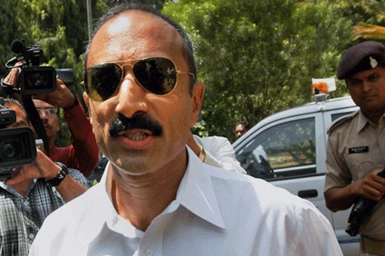 Former Gujarat IPS officer Sanjiv Bhatt detained